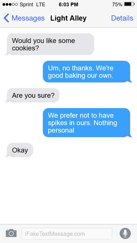iphone-o5Kk - Fake Text Message