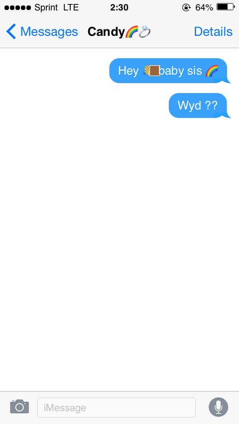 Wyd text message